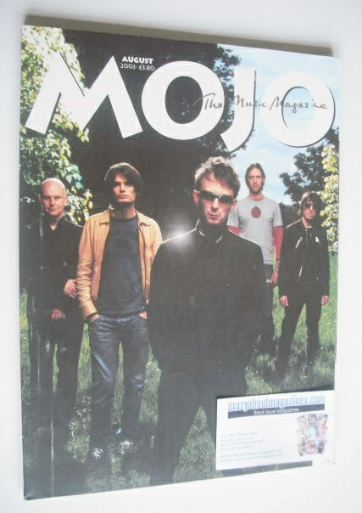 <!--2003-08-->MOJO magazine - Radiohead cover (August 2003 - Issue 117)