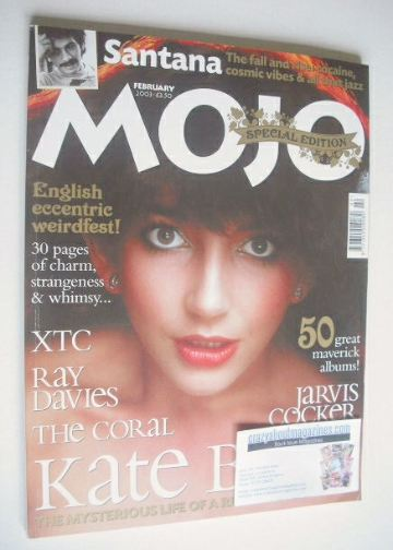 <!--2003-02-->MOJO magazine - Kate Bush cover (February 2003 - Issue 111)