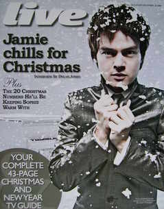 <!--2009-12-20-->Live magazine - Jamie Cullum cover (20 December 2009)