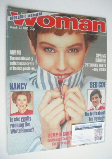 <!--1985-03-23-->Woman magazine - 23 March 1985