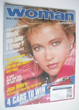 Woman magazine (2 March 1985)