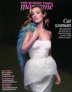 <!--2009-01-04-->The Sunday Times magazine - Cat Deeley cover (4 January 20