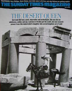 <!--2006-07-16-->The Sunday Times magazine - The Desert Queen cover (16 Jul