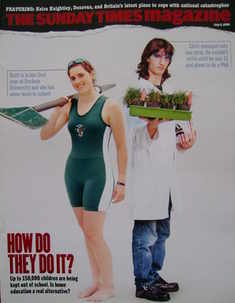 <!--2006-07-02-->The Sunday Times magazine - How Do They Do It? cover (2 Ju