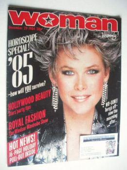 Woman magazine (29 December 1984)