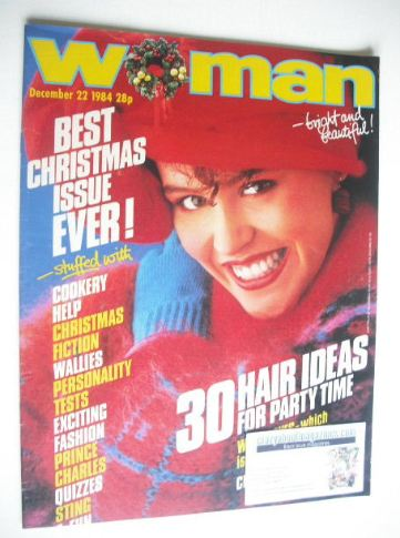 <!--1984-12-22-->Woman magazine (22 December 1984)