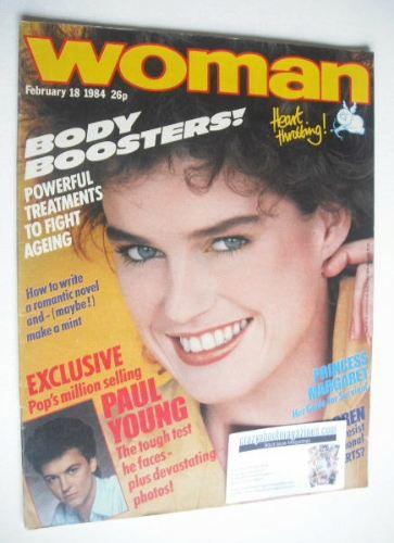 <!--1984-02-18-->Woman magazine (18 February 1984)
