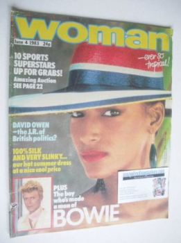 Woman magazine (4 June 1983)