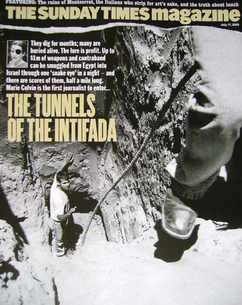 <!--2005-07-17-->The Sunday Times magazine - The Tunnels of the Intifada co