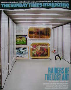 <!--2005-08-21-->The Sunday Times magazine - Raiders Of The Lost Art cover