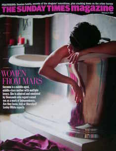 <!--2008-02-17-->The Sunday Times magazine - Women From Mars cover (17 Febr