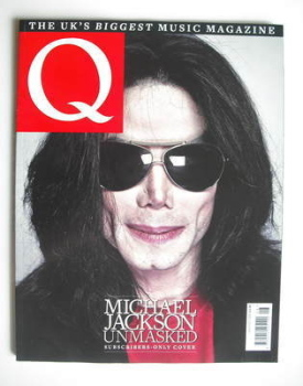 Q magazine - Michael Jackson cover (August 2009 - Subscriber's Issue)