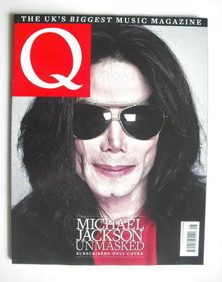 <!--2009-08-->Q magazine - Michael Jackson cover (August 2009 - Subscriber'