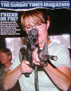 <!--2008-10-26-->The Sunday Times magazine - Sarah Palin cover (26 October