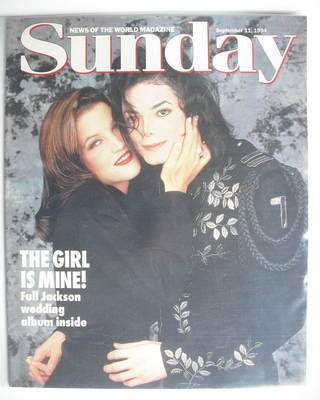 <!--1994-09-11-->Sunday magazine - 11 September 1994 - Michael Jackson and