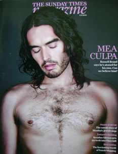 <!--2009-11-01-->The Sunday Times magazine - Russell Brand cover (1 Novembe