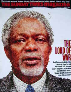 <!--2006-10-01-->The Sunday Times magazine - Kofi Annan cover (1 October 20