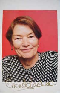 Glenda Jackson autograph