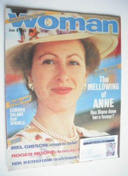 Woman magazine - Princess Anne cover (8 June 1985)