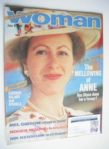 <!--1985-06-08-->Woman magazine - Princess Anne cover (8 June 1985)