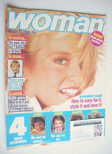 <!--1988-08-23-->Woman magazine (23 August 1988)