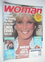 <!--1987-06-20-->Woman magazine - Linda Evans cover (20 June 1987)