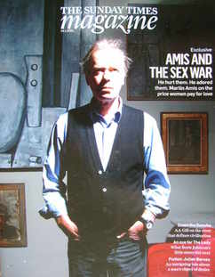 <!--2010-01-24-->The Sunday Times magazine - Martin Amis cover (24 January