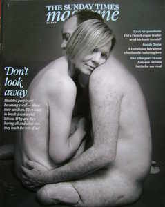 <!--2009-02-15-->The Sunday Times magazine - Don't Look Away cover (15 Febr