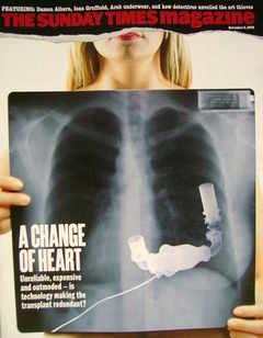 <!--2008-11-02-->The Sunday Times magazine - A Change of Heart cover (2 Nov