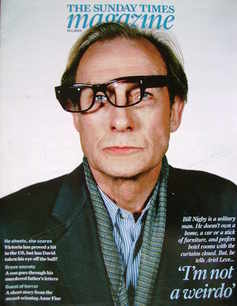 <!--2009-01-18-->The Sunday Times magazine - Bill Nighy cover (18 January 2