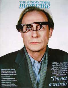 <!--2009-01-18-->The Sunday Times magazine - Bill Nighy cover (18 January 2