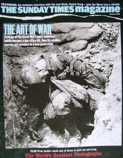<!--2006-10-08-->The Sunday Times magazine - The Art Of War cover (8 Octobe