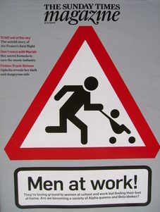 <!--2009-11-15-->The Sunday Times magazine - Men at Work cover (15 November