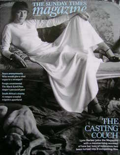 <!--2009-10-11-->The Sunday Times magazine - The Casting Couch cover (11 Oc