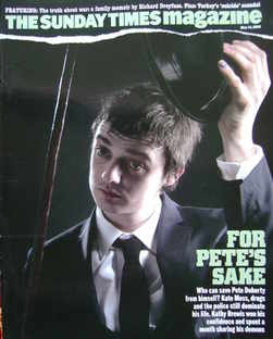 <!--2006-05-14-->The Sunday Times magazine - Pete Doherty cover (14 May 200