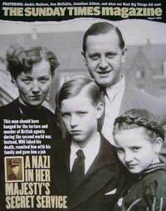 <!--2005-08-07-->The Sunday Times magazine - A Nazi In Her Majesty's Secret