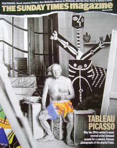 <!--2006-03-12-->The Sunday Times magazine - Tableau Picasso cover (12 Marc