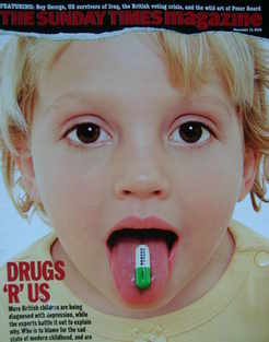 <!--2006-11-12-->The Sunday Times magazine - Drugs 'R' Us cover (12 Novembe