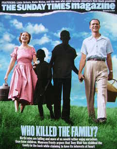 <!--2006-11-05-->The Sunday Times magazine - Who Killed The Family? cover (
