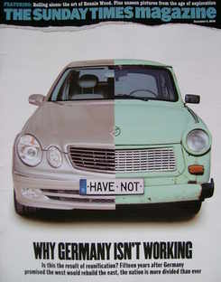 <!--2004-12-05-->The Sunday Times magazine - Why Germany Isn't Working cove