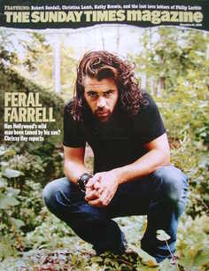 <!--2004-11-21-->The Sunday Times magazine - Colin Farrell cover (21 Novemb