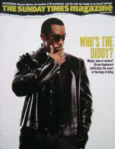 <!--2006-11-19-->The Sunday Times magazine - P Diddy cover (19 November 200