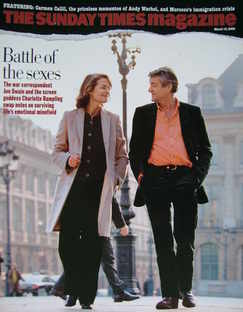 <!--2006-03-19-->The Sunday Times magazine - Charlotte Rampling and Jon Swa