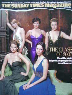 <!--2007-02-04-->The Sunday Times magazine - The Class of 2007 cover (4 Feb