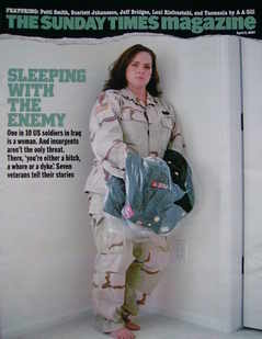<!--2007-04-08-->The Sunday Times magazine - Sleeping With The Enemy cover