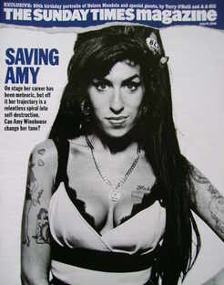 <!--2008-07-27-->The Sunday Times magazine - Amy Winehouse cover (27 July 2