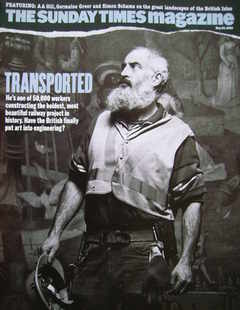 <!--2005-05-29-->The Sunday Times magazine - Transported cover (29 May 2005