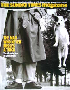 <!--2006-08-20-->The Sunday Times magazine - The Man Who Never Misses A Tri