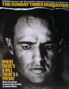 <!--2006-08-13-->The Sunday Times magazine - Marlon Brando cover (13 August