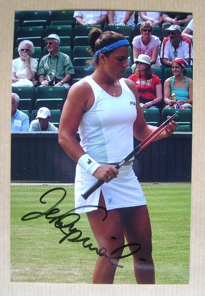 Jennifer Capriati autograph